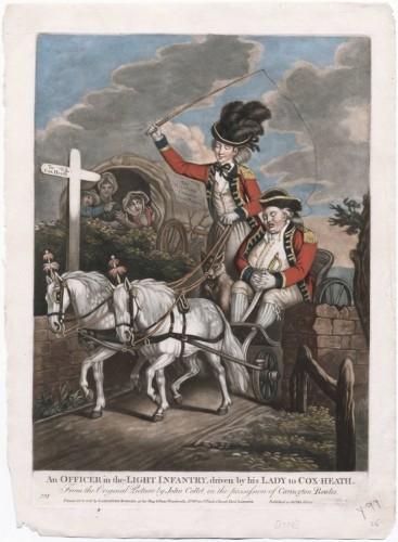 """Collett, """"Officer in the Light Infantry,"""" 1770"""