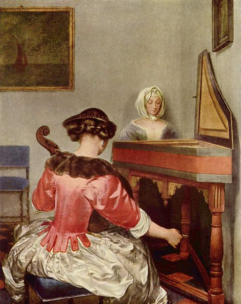 Gerard ter Borch (1617–1681), The Concert, 1655, Gemäldegalerie