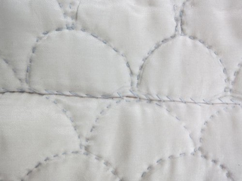 Scale pattern 18th-century inspired quilting thedreamstress.com
