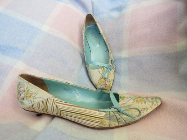 1790s inspired shoes - how they began