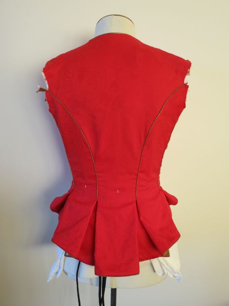 Polly / Oliver jacket almost done thedreamstress.com