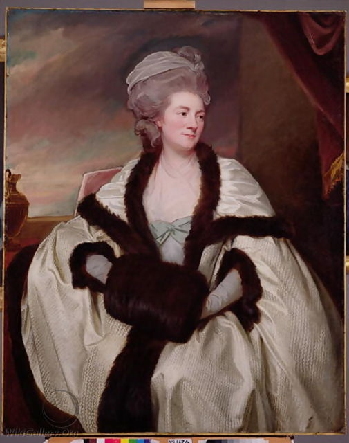 Mrs. Wilbraham Bootle, 1781 by George Romney, oil on Canvas,  National Gallery of Scotland