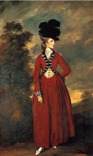 Sir Joshua Reynolds, Lady Worsley. 1776