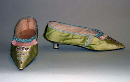 Slippers, 1790, Metropolitan Museum of Art