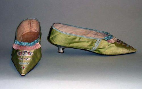 Slippers, 1790, Metropolitan Museum of Art
