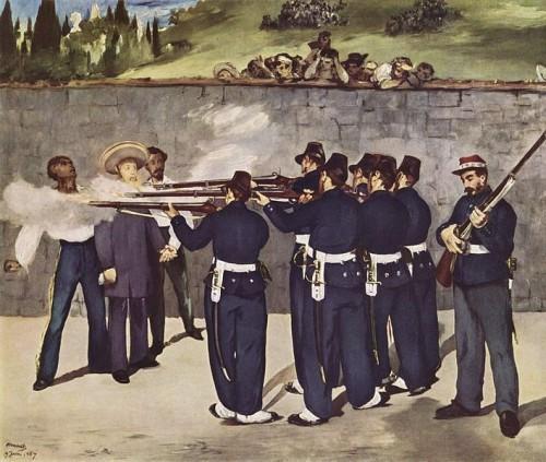 Execution of Emperor Maximilian (1868–1869), Édouard Manet
