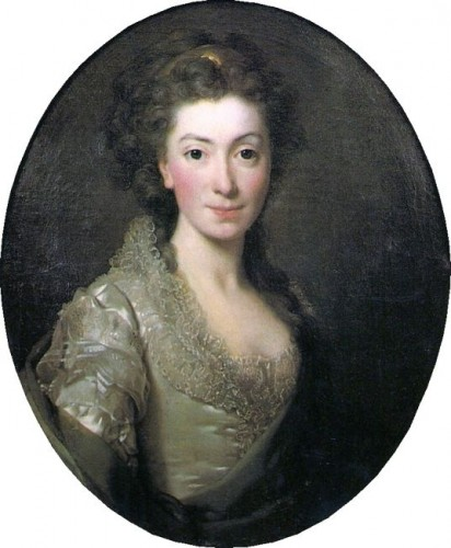 Alexander Roslin (1718–1793)   Title English- Portrait of Izabela Czartoryska (1746-1835) Date1774