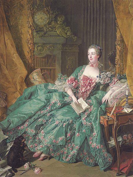 François Boucher, Madame de Pompadour, 1756
