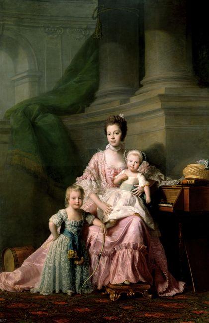 Charlotte of Mecklenburg-Strelitz, Ramsay, 1765