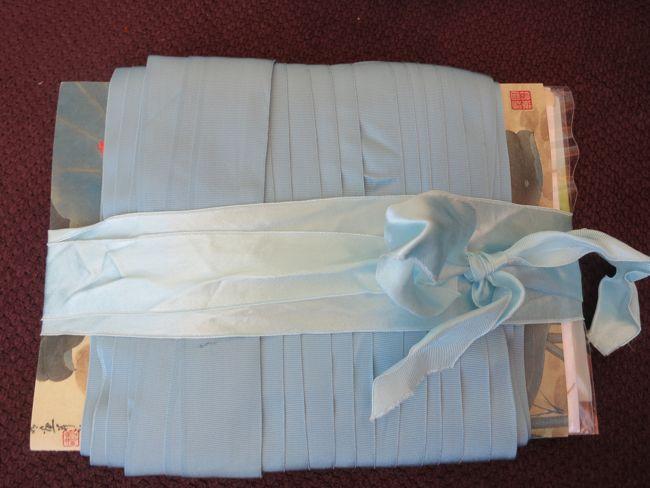 Ribbon gift card storage