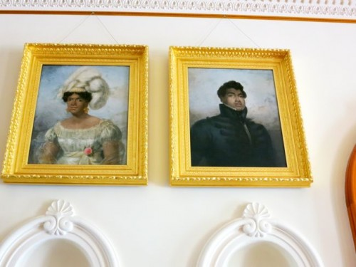 Kamehameha II and his Queen, who both died on their 1824 trip to England