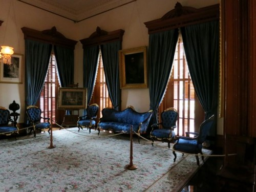 The Blue Room, where Lili'uokalani composed music