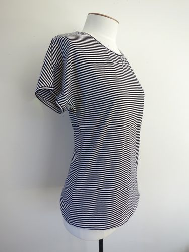Black and white striped tee, thedreamstress.com
