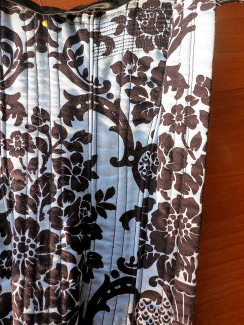 Midnight garden 1890s corset thedreamstress.com