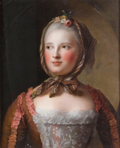 Marie-Josèphe of Saxony in the Savoyarde style, 1750-51, Jean-Marc Nattier. Palace of Versailles.