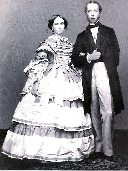 Maximilian and Charlotte, 1857