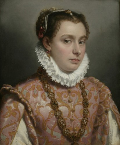 Portrait of a Young Woman Giovanni Battista Moroni, 1564-70