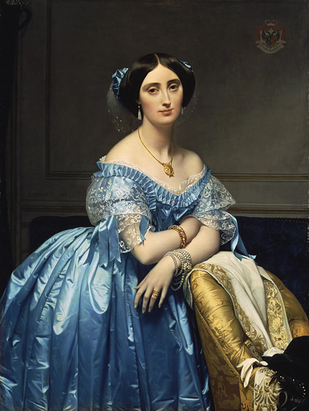 Princesse de Broglie, 1851–53 Jean-Auguste-Dominique Ingres (French, 1780–1867), Metropolitan Museum of Art