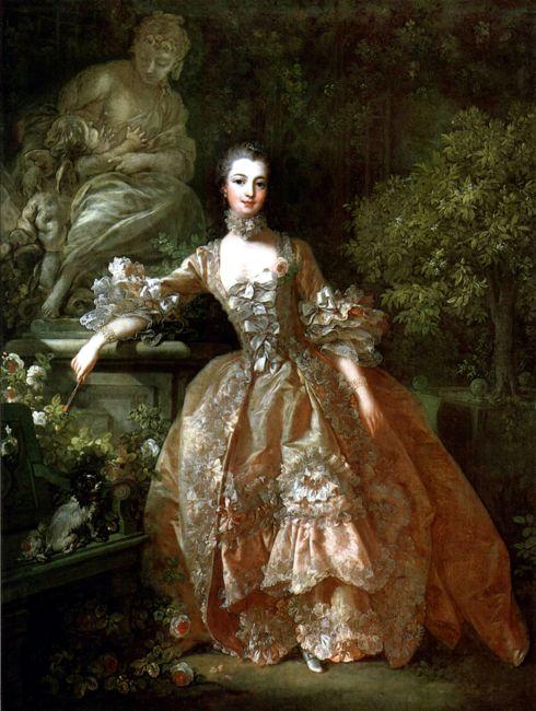 François Boucher (1703–1770), Madame de Pompadour (1721-1764), 1759