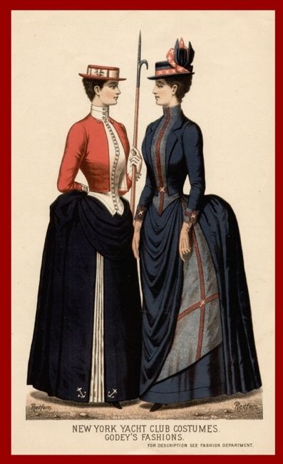 1887, Godey's Ladies Book