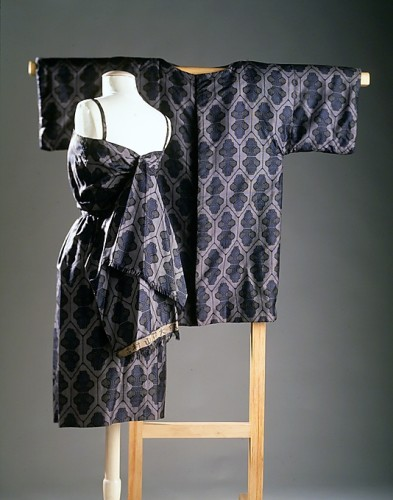 Cocktail ensemble, Bonnie Cashin  (American, 1915–2000), Eunice Cashin (American) 1957, silk, wool, Metropolitan Museum of Art, 2009.300.3285