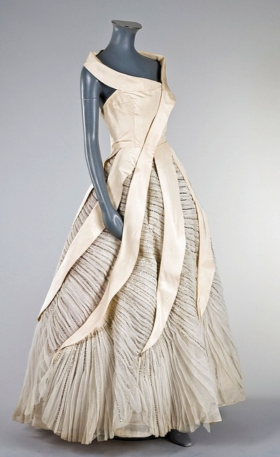Colette Massignac for House of Paquin, 1950s