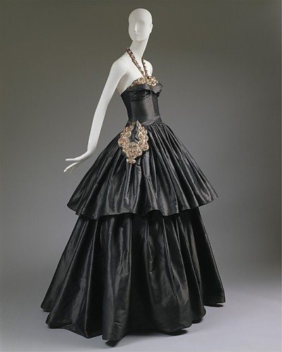 Cyclone, House of Lanvin  (French, founded 1889) Designer- Jeanne Lanvin, 1939, French, silk, spangles, Metropolitan Museum of Art, C.I.46.4.18