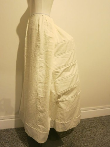 ca. 1885 Polly / Oliver skirt construction