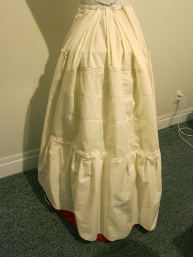 Polly / Oliver skirt construction