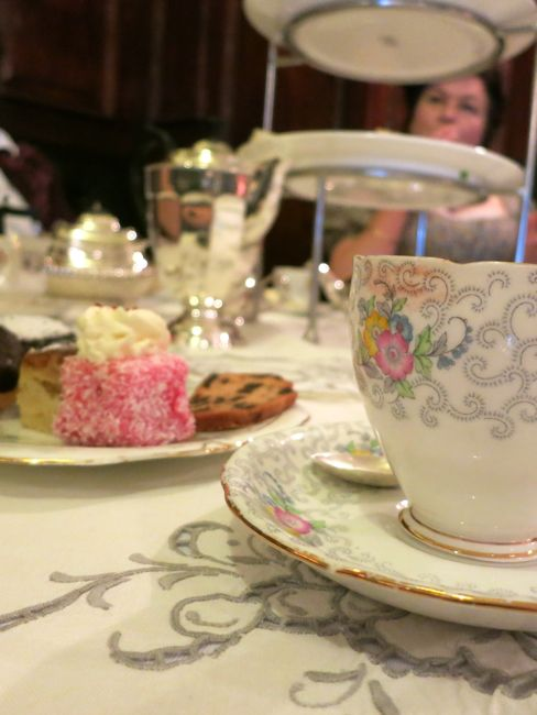 Afternoon tea at the Wellesley thedreamstress.com