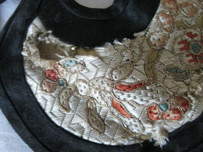Cloud collar, Chinese, late 19th century