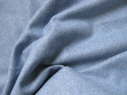 Delft blue felted plain weave wool thedreamstress.com