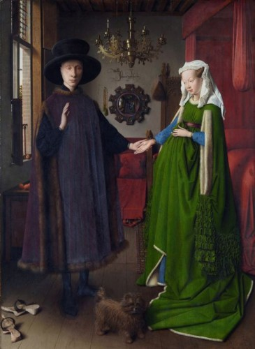 The Arnolfini Portrait, Jan van Eyck, 1434, National Gallery London