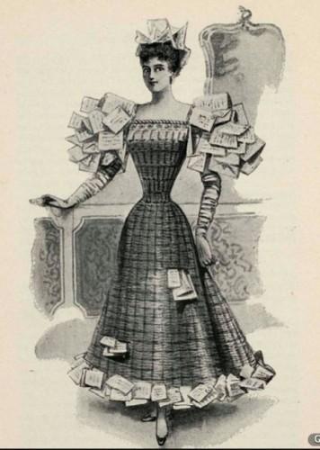 Wastepaper basket, 1896