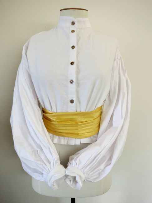 Re-creation 1860s garibaldi blouse thedreamstress.com