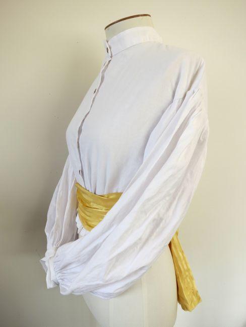 Re-creation 1860s garibaldi blouse thedreamstress.com