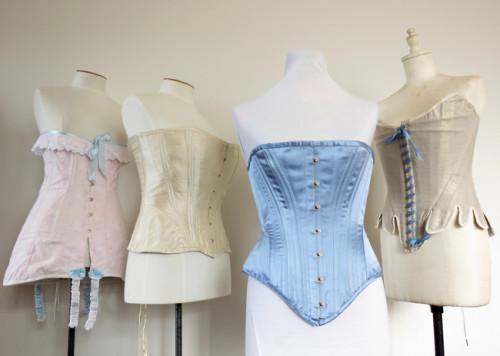 The 1877 'Nana' corset thedreamstress.com