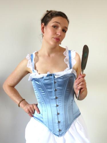 The 'Nana' corset thedreamstress.com