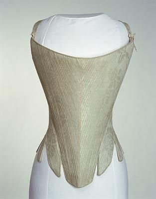 Stays, United Kingdom, 1740-1760, 1947.1622, Manchester City Galleries