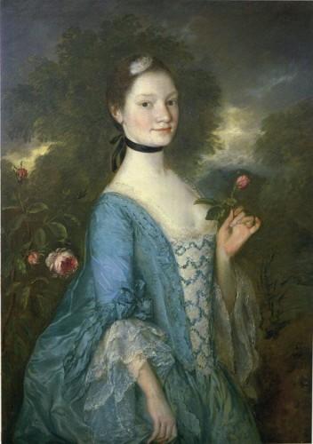 Lady Innes, Thomas Gainsborough, 1757