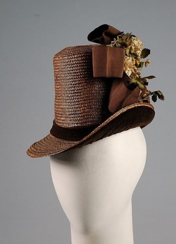 Hat, 1884-86, Metropolitan Museum of Art