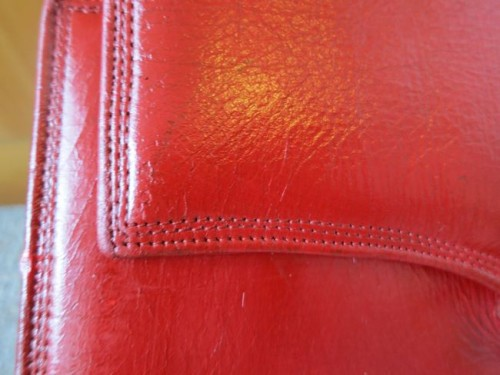 How to dye worn out leather thedreamstress.com