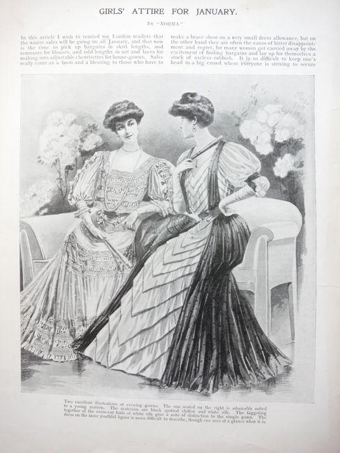 Girl's Own Magazine, January 1906