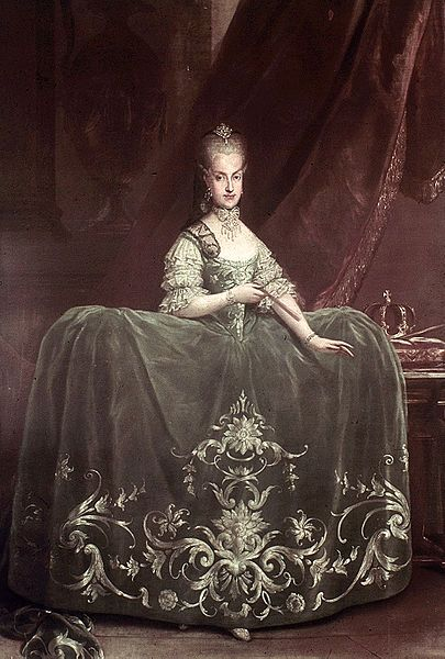 Martin van Meytens (1695–1770) Maria Carolina of Austria (1752-1814) 1760-70