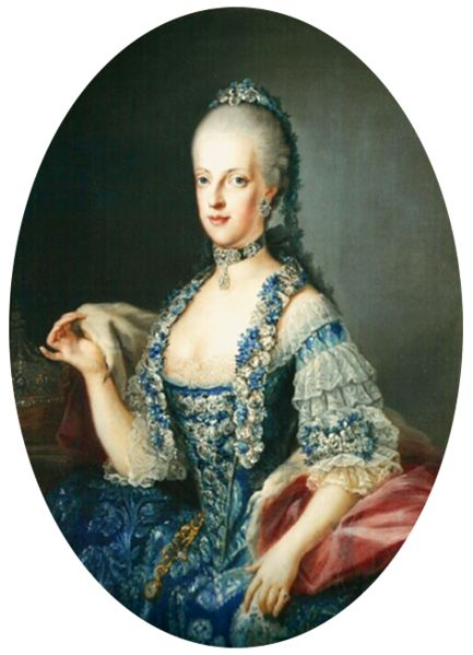 Portrait of Maria Carolina of Austria (1752-1814) 1760s