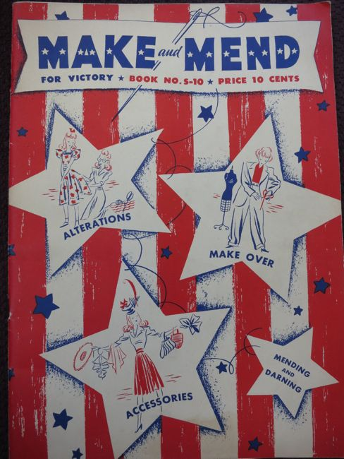 Make & Mend for Victory thedreamstress.com