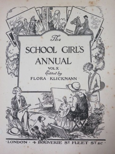 The School Girls Annual thedreamstress.com