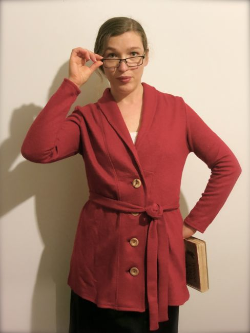 The 1919 robe sweater thedreamstress.com