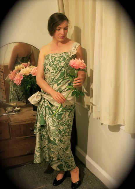 1924 Hula Goddess dress thedreamstress.com