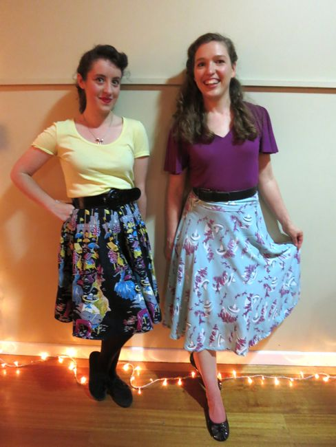 Rodeo & Wrangle 1940s skirt thedreamstress.com